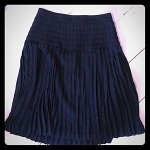 Jcrew pleated midi skirt